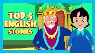 Top 5 English Stories | Short Story For Children In English | Bedtime Stories In English