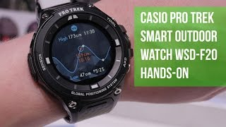 Casio Pro Trek Smart Outdoor Watch WSD-F20 Hands-on
