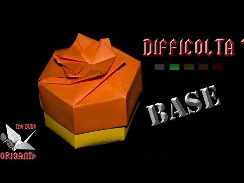 [ORIGAMI ITA] Scatola Esagonale Facile (Base) || Scatole/Decorazioni