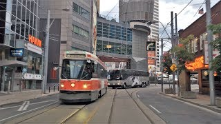 Driving Downtown - Toronto Centre 4K - Canada