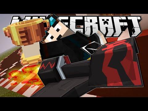 Minecraft | I CRASHED SO BAD!! | Turbo Kart Racers Minigame