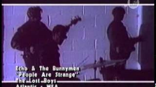 echo & the bunnymen - people are strange(OFICIAL - THE LOST BOYS)