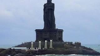 Thiruvalluvar Statue, Kanyakumari beach