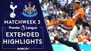 Tottenham v. Newcastle   PREMIER LEAGUE HIGHLIGHTS   8/25/19   NBC Sports