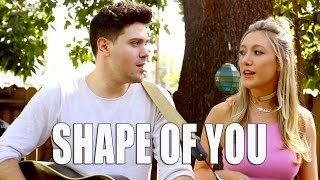 Shape of You - Ed Sheeran (Cover by Madison Marigold and Will Makar)