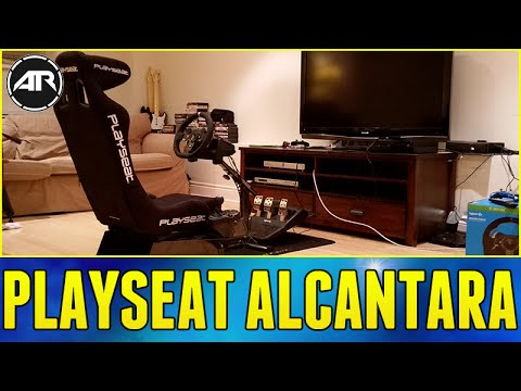 Playseat Alcantara Unboxing, Setup & Review!!! (Playseat Evolution, Gear Shifter, Seat Slider)