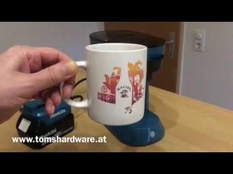 Makita DCM500z DCM 500 DCM500 Akku Kaffeemaschine Test Produkttest Testbericht Vorstellung