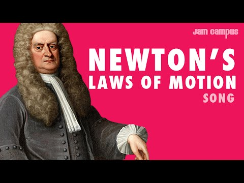 NEWTON'S LAWS OF MOTION SONG (Parody of DNCE - Cake By The Ocean)