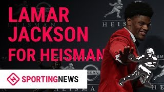 Vote Louisville QB Lamar Jackson For 2018 Heisman