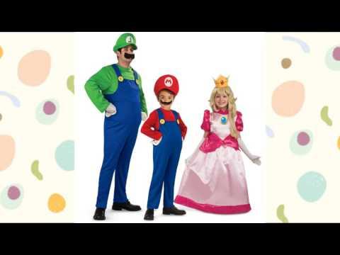 Los mas interesantes Disfraces de Mario Bros para niños