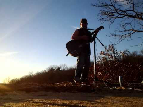 "FOLSOM PRISON BLUES ON THE ROCKS ""cover"" By Odie Chandler"