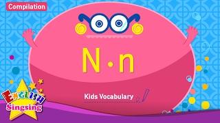 Kids từ vựng biên soạn - Words bắt đầu với N, n