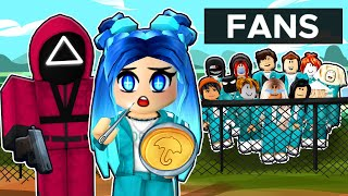 ROBLOX SQUID GAME WITH FANS...