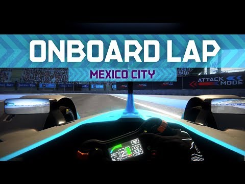 Virtual Lap: Mexico City | ABB FIA Formula E Championship