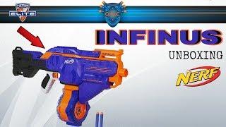 Nerf Infinus UNBOXING | Review | Battlefähig? | OWL-Nerf Community [Deutsch / German]