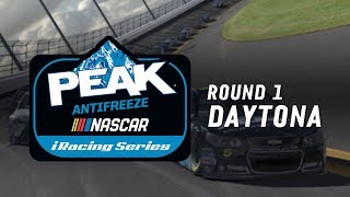 NASCAR PEAK Antifreeze iRacing Series | Round 1 at Daytona