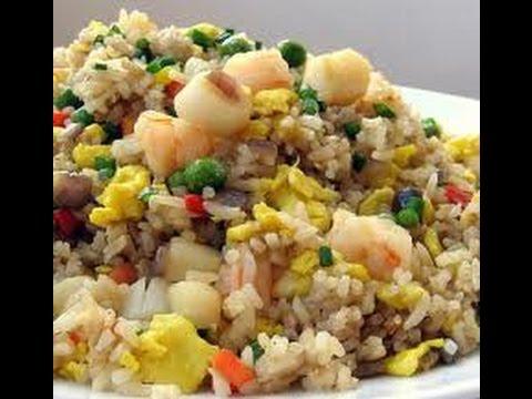 Video Resep Masakan Nasi Goreng Ikan Asin