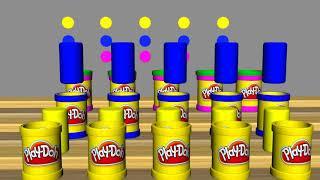 Пластилин Play Doh Набор Пластилина Плей До своими руками. Видео для детей
