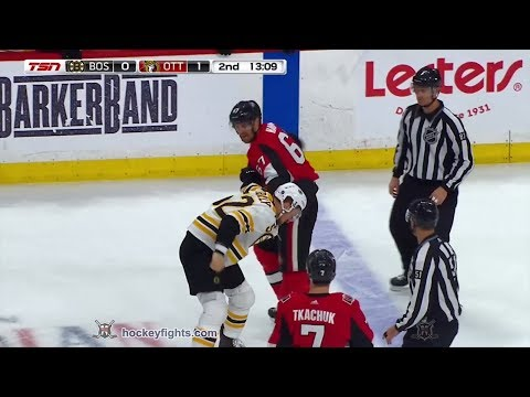 Ben Harpur vs. Sean Kuraly
