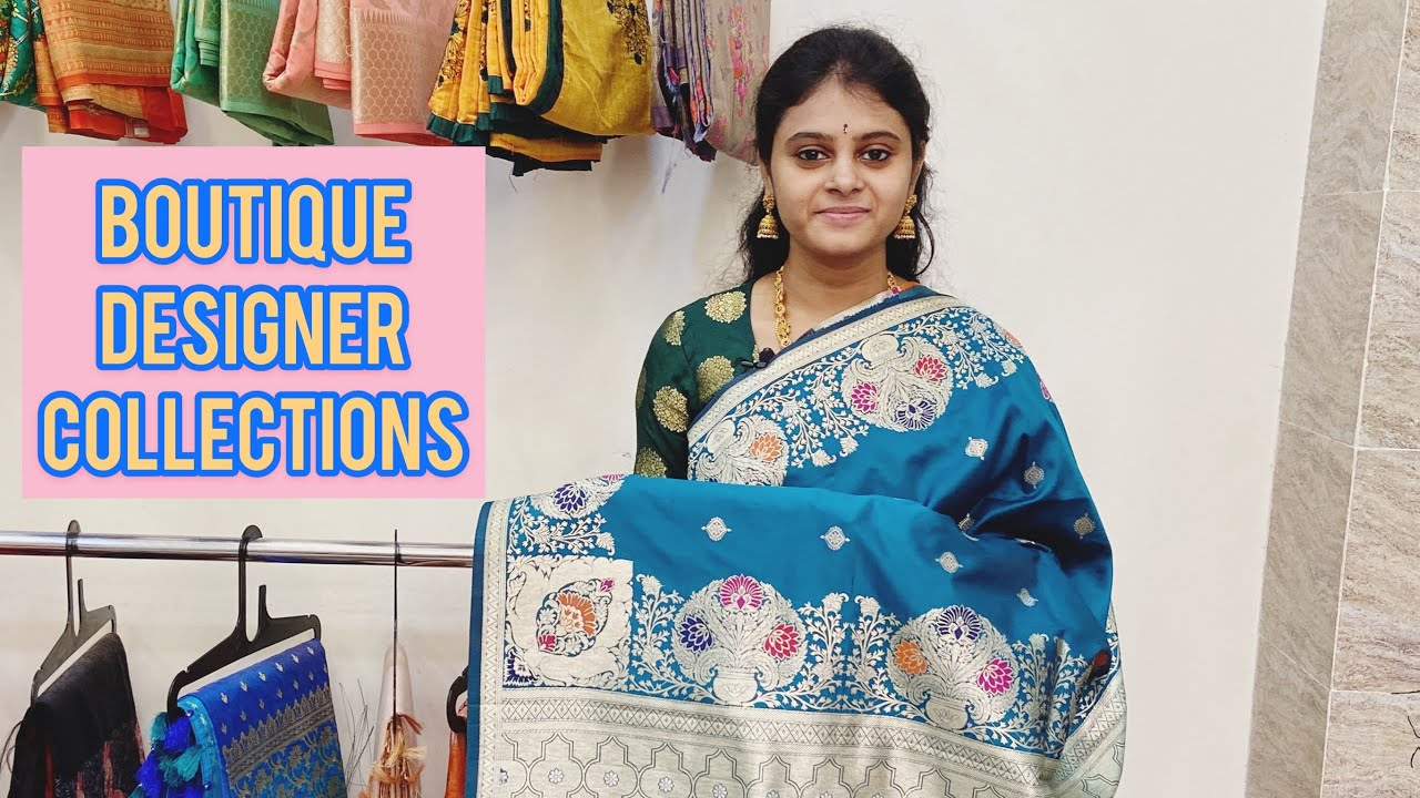 "<p style=""color: red"">Video : </p>Best Boutique Designer Collections In Haritha SareesWe Are Showing The Different Fabrics in Different Patterns in Our Latest Collections In Our Haritha Sarees Collections Please Do Watch Our Website For More ... 2021-01-12"