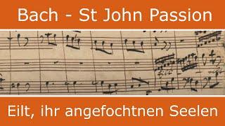 Bach - St John Passion - Eilt ihr angefocht'nen Seelen (bass aria)