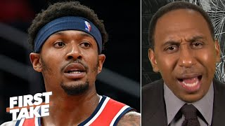Stephen A. is incredibly sad for Bradley Beal: The Wizards are going to stink! | First Take