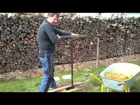 Brunnenbohren mit Erdbohrer (6m)