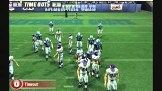 MaddenNFL 07 Historic Teams Special 1973 Minnesota Vikings vs 1970 Baltimore Colts