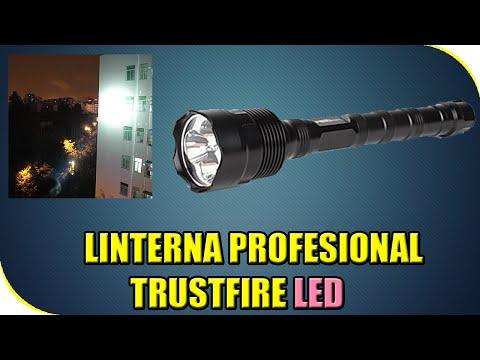 REVIEW LINTERNA PROFESIONAL LED | EXPERIMENTOS CASEROS