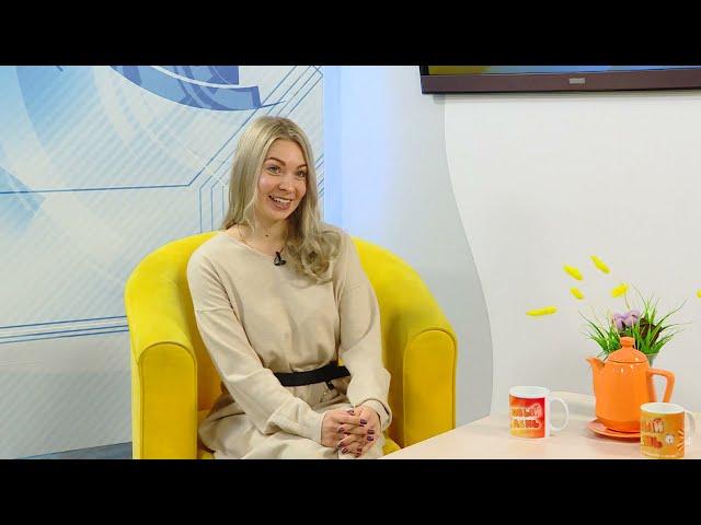 Гость программы «Новый день» -  художественный руководитель ансамбля «Подснежник» Ирина Бабич