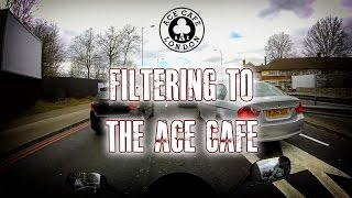 Filtering To Ace Cafe