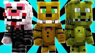 FNAF World - SPRING BONNIE (Minecraft Roleplay) Day 28