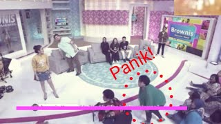 Download Video PENONTON PANIK..!! Gempa Banten Terasa di studio Live Acara TV MP3 3GP MP4