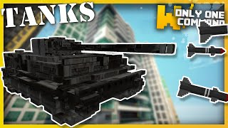 Minecraft - TANKS with only one command block