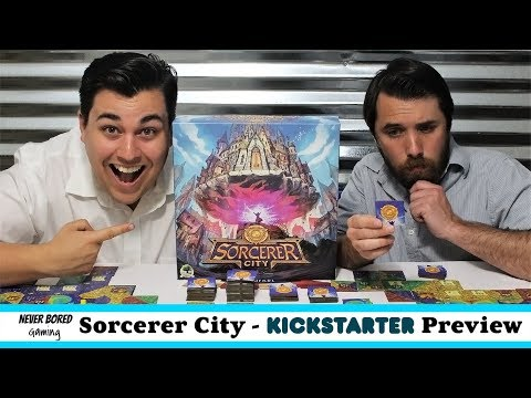 Never Bored Gaming - Kickstarter Preview