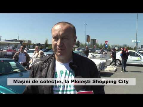Mașini de colecție, la Ploiești Shopping City