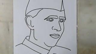 Jawaharlal Nehru Sketch Hmong Video