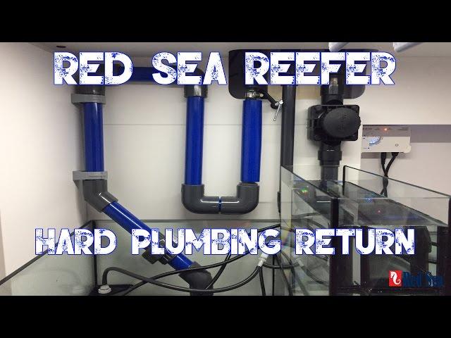 Red Sea Reefer 250 | HARD PLUMBING RETURN | REEF TANK MANIFOLD | VARIOS-6 PUMP