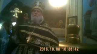 архм Герман о явлении Божией Матери, 08 10 15