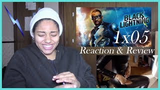 "Black Lightning 1x05 Reaction- ""And Then the Devil Brought the Plague: The Book of Green Light"""