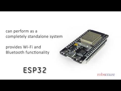 Robocraze ESP32 Development Board WiFi Bluetooth