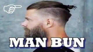 Haircut Hipster Man Bun 2017 | Undercut Samurai