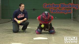 Catcher Blocking Technique - TCS Training Tips
