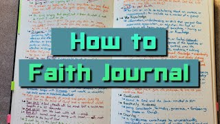 How to Faith Journal - How to Journal Your Journey with God