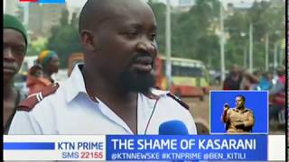 THE SHAME OF KASARANI: One dead, several injured as police disperse protesters