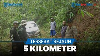 Mobil Avanza Tersesat di Hutan Gunung Putri saat Tengah Malam, Dievakuasi Pukul 2 Dini Hari