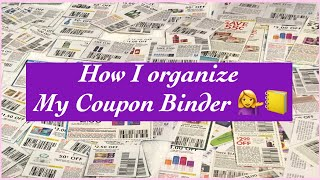 HOW I ORGANIZE MY COUPON BINDER | HOW TO START COUPONING |NEW TO COUPONING | Where I Get My Coupons