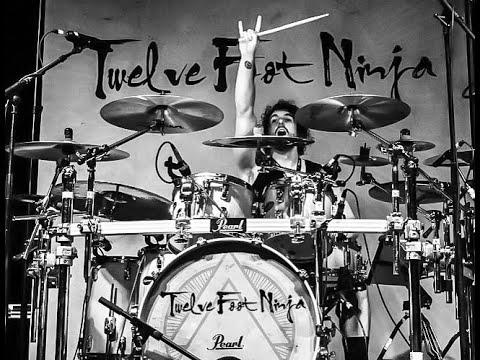 """Twelve Foot Ninja LIVE GoPro Drum cam """"Mothersky"""" PRO AUDIO"""