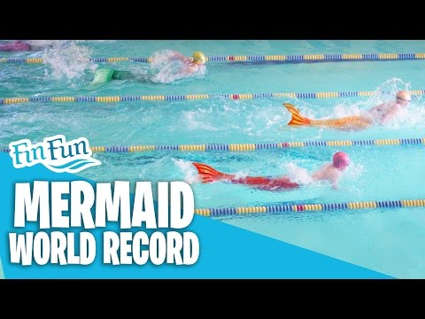 Mermaid World Record