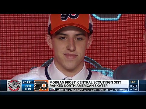 Flyers pick Andy Frost's son Morgan at 27th overall